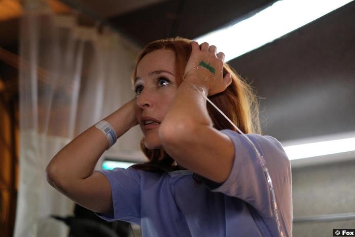 X Files S11e01 Gillian Anderson Dana Scully