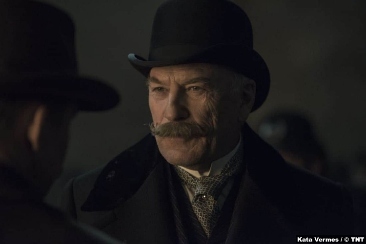 Alienist S1e3 Ted Levine Thomas Byrnes