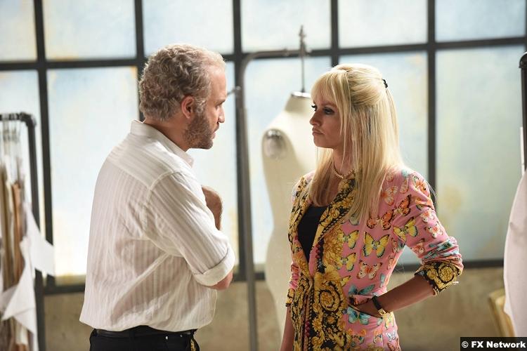 American Crime Story S2e5 Versace Edgar Ramirez Penelope Cruz Donatella