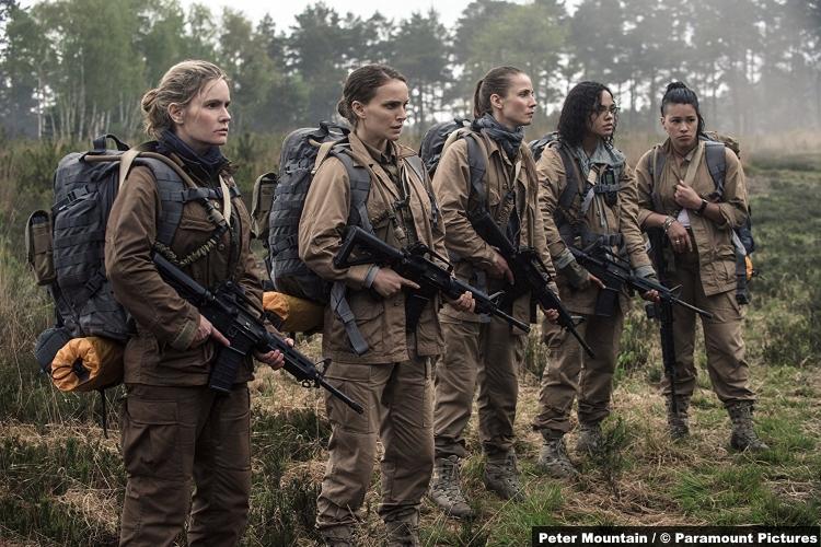 Annihilation Natalie Portman Jennifer Jason Leigh Tuva Novotny Gina Rodriguez Tessa Thompson