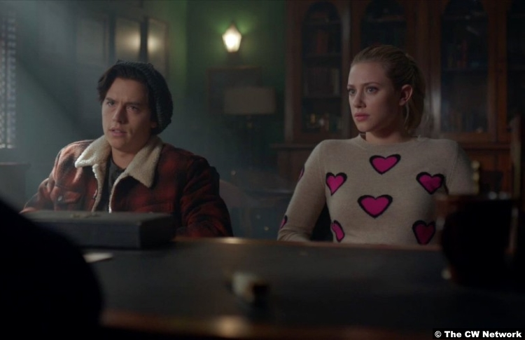Riverdale S02e12 Cole Sprouse Lili Reinhart Jughead Betty