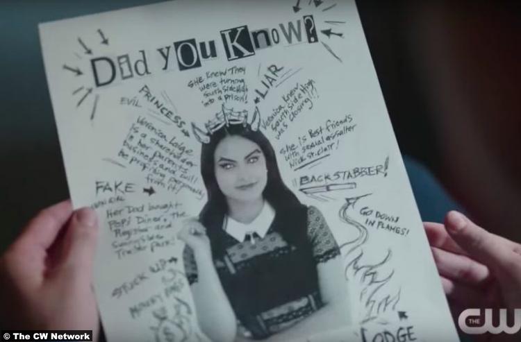 Riverdale S02e16 Camila Mendes Veronica