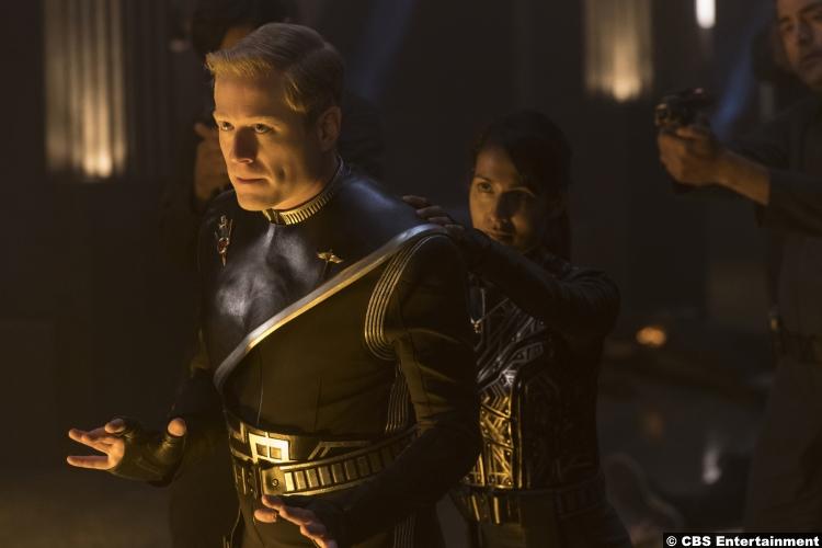 Star Trek Discovery S1e13 Anthony Rapp Paul Stamets Rekha Sharma Commander Landry