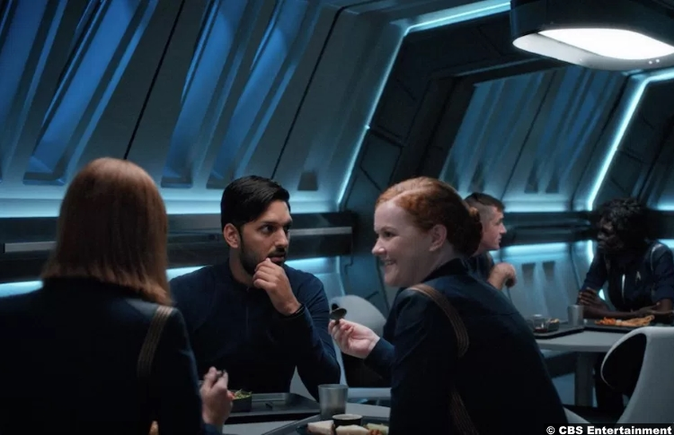 Star Trek Discovery S1e14 Shazad Latif Ash Tyler Mary Wiseman Sylvia Tilly