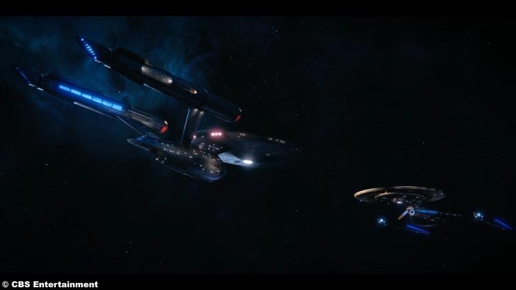 Star Trek Discovery S1e15 Enterprise Faceoff