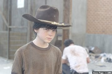 Walking Dead Chandler Riggs Carl Grimes