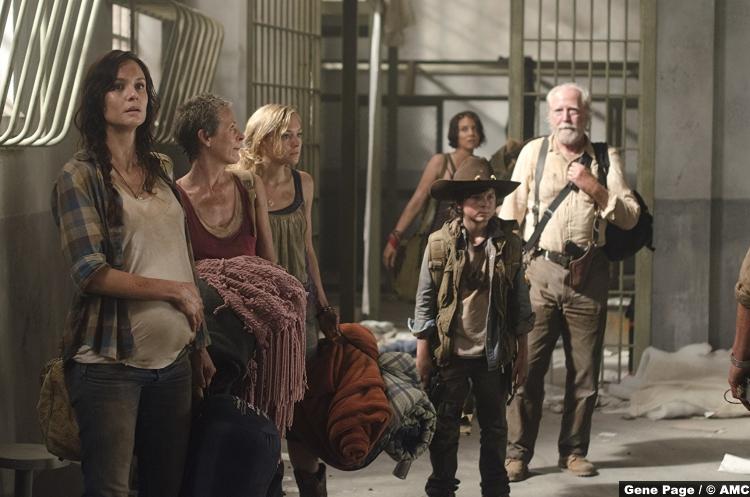Walking Dead Prison Carl Maggie
