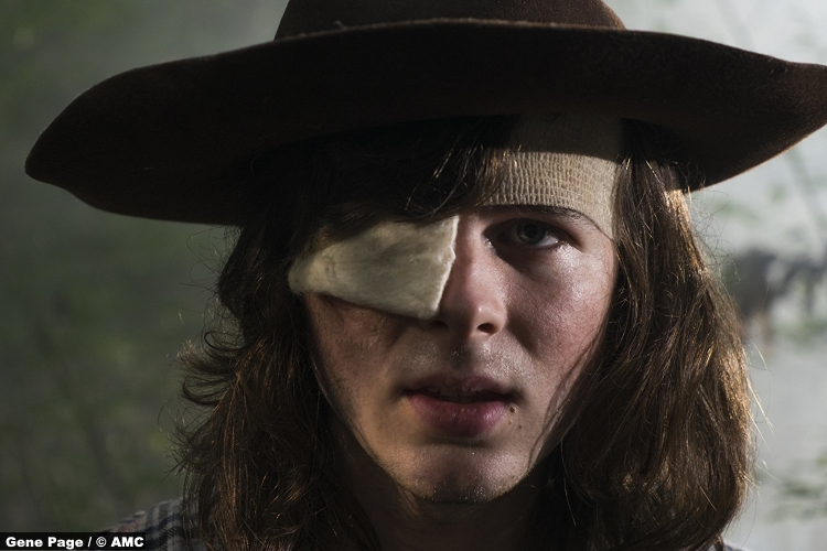 Walking Dead S08e9 Chandler Riggs Carl Grimes