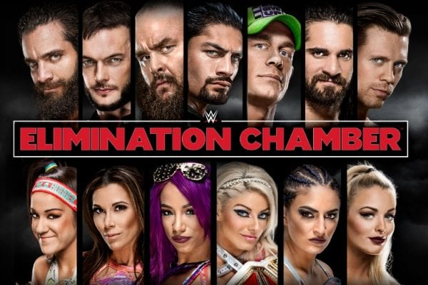 Wwe Elimination Chamber 2018 Poster