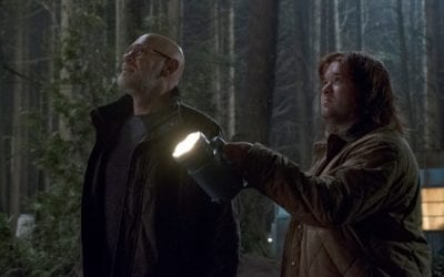 X Files S11e6 Mitch Pileggi Walter Skinner Haley Joel Osment