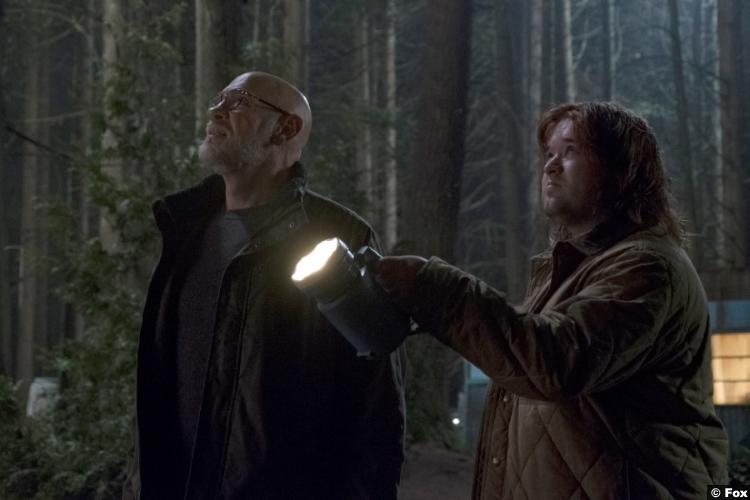 X Files S11e6 Mitch Pileggi Walter Skinner Haley Joel Osment