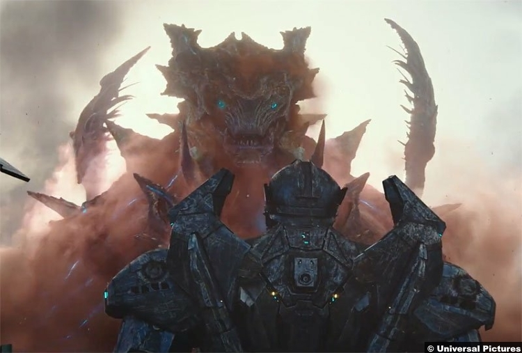 'Pacific Rim' dethrones 'Black Panther' in box office