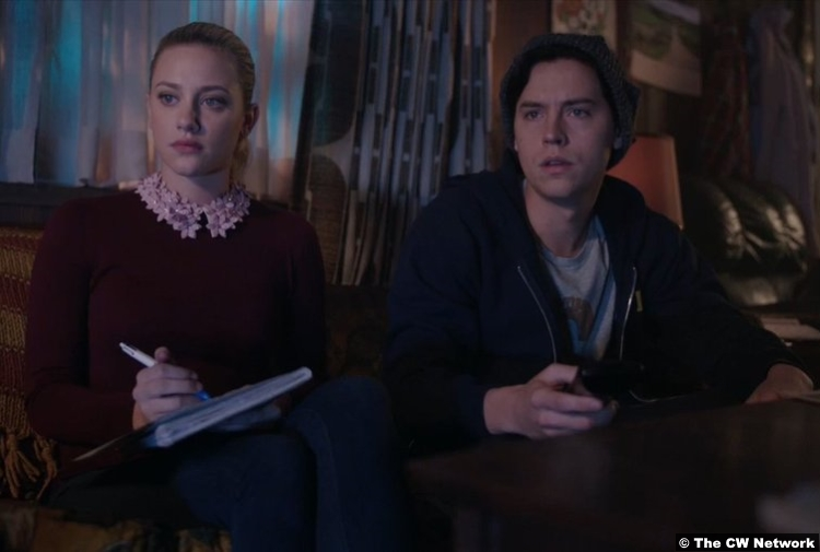 Riverdale S02e17 Cole Sprouse Lili Reinhart Jughead Betty