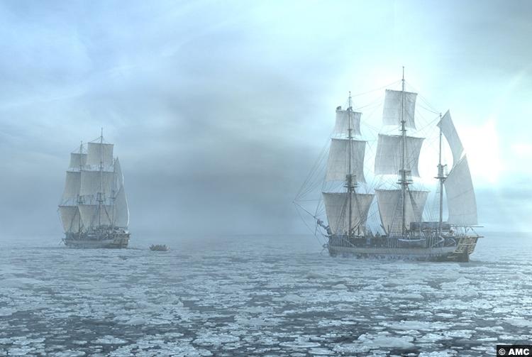 Terror S1e1 Ships