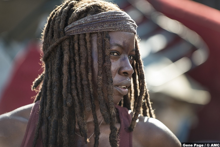 Walking Dead S08e10 Michonne Danai Gurira