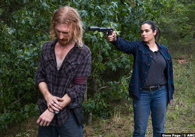 Walking Dead S08e11 Austin Amelio Dwight Alanna Masterson Tara
