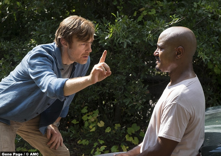 Walking Dead S08e11 Keith Harris Dr Harlan Carson Seth Gilliam Gabriel