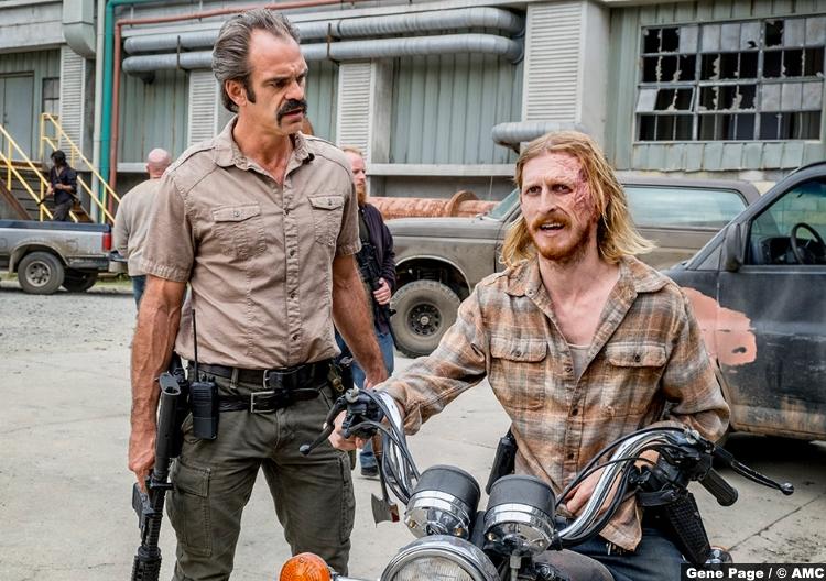 Walking Dead S08e12 Austin Amelio Dwight Steven Ogg Simon