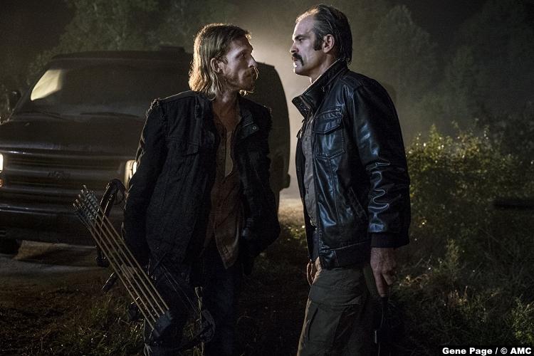 Walking Dead S08e13 Austin Amelio Dwight Steven Ogg Simon