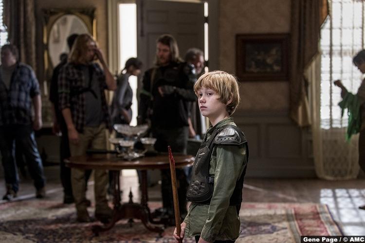Walking Dead S08e13 Macsen Lintz Henry