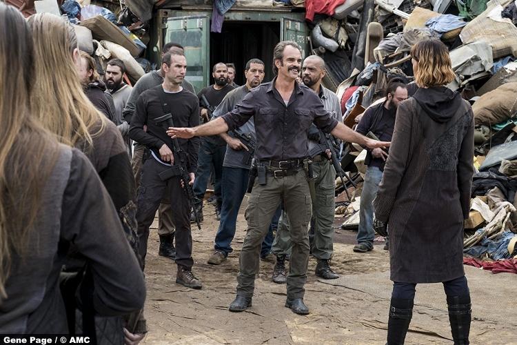 Walking Dead S8e10 Simon Steven Ogg Jadis Pollyanna Mcintosh