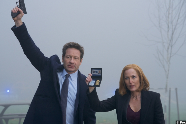 X Files S11e08 Gillian Anderson Dana Scully David Duchovny Fox Mulder
