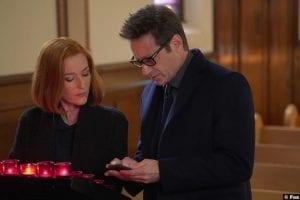 X Files S11e09 Gillian Anderson Dana Scully David Duchovny Fox Mulder