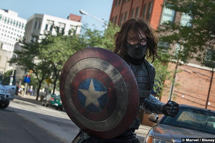 Captain America Winter Soldier Sebastian Stan Bucky Barnes
