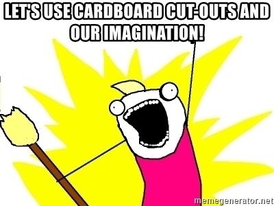 Meme Play Cardboard