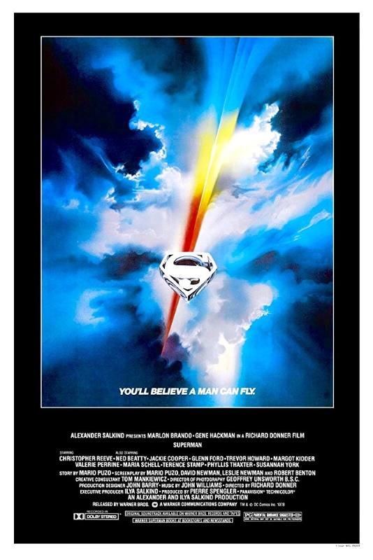 Superman 1978 Poster