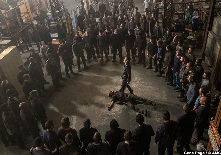 Walking Dead S08e15 Steven Ogg Simon Jeffrey Dean Morgan Negan 2