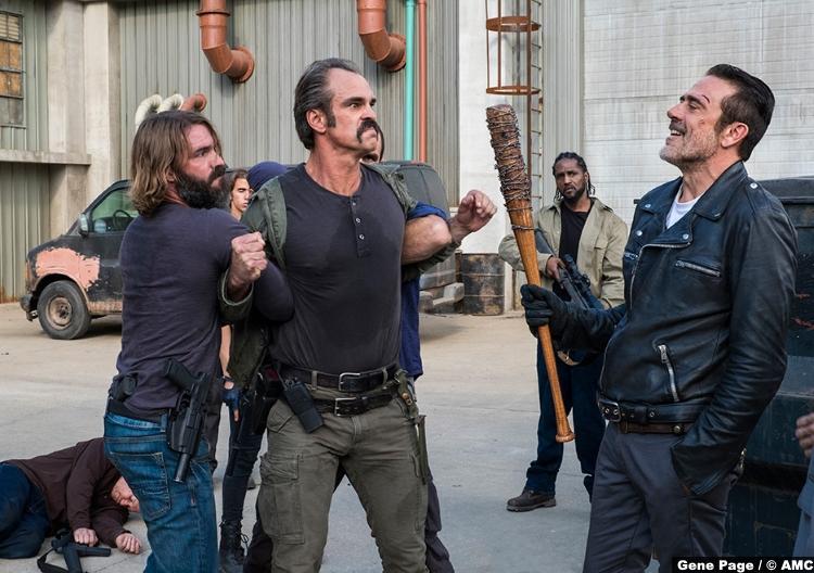 Walking Dead S08e15 Steven Ogg Simon Jeffrey Dean Morgan Negan 3