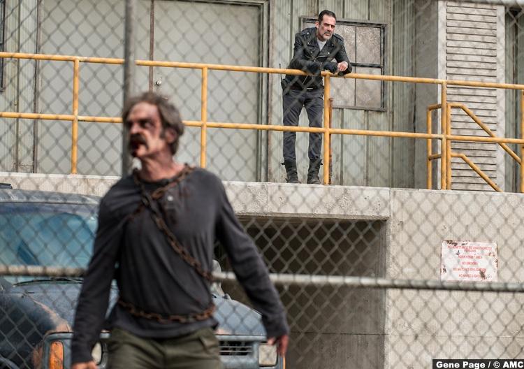 Walking Dead S08e15 Steven Ogg Simon Jeffrey Dean Morgan Negan