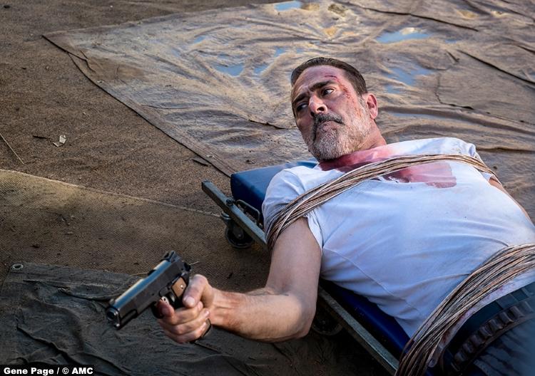 Walking Dead S8e14 Jeffrey Dean Morgan Negan