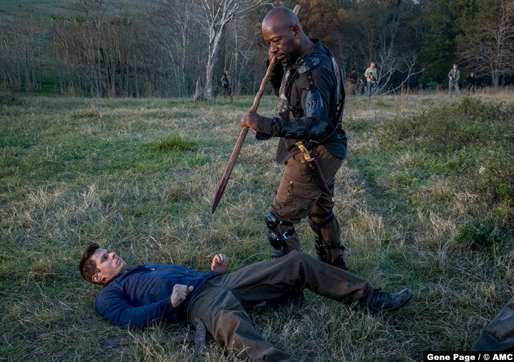 Walking Dead S8e16 Lennie James Morgan