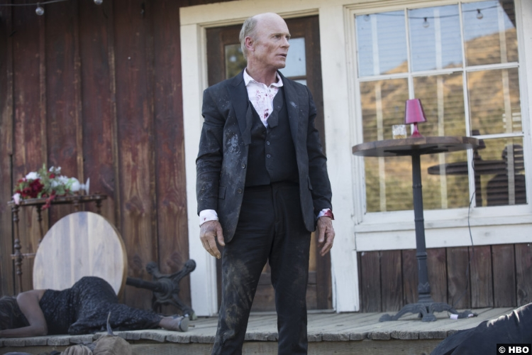Westworld S02e01 Ed Harris Man Black William