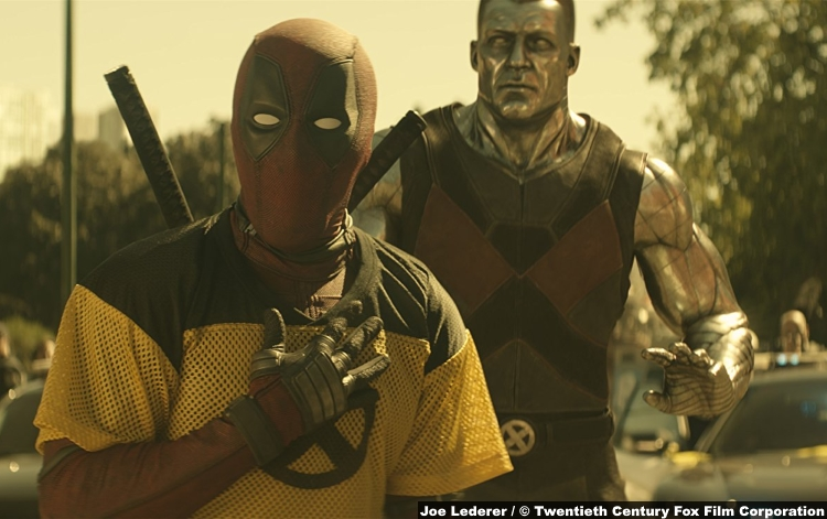 Deadpool 2 Ryan Reynolds Stefan Kapicic Colossus