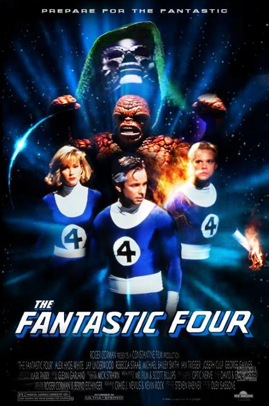 Fantastic Four 1994 Poster