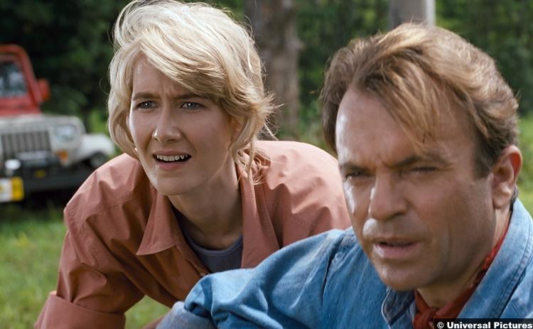 Jurassic Park 1993 Laura Dern Sam Neill