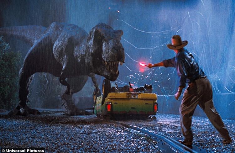 Jurassic Park 1993 T Rex
