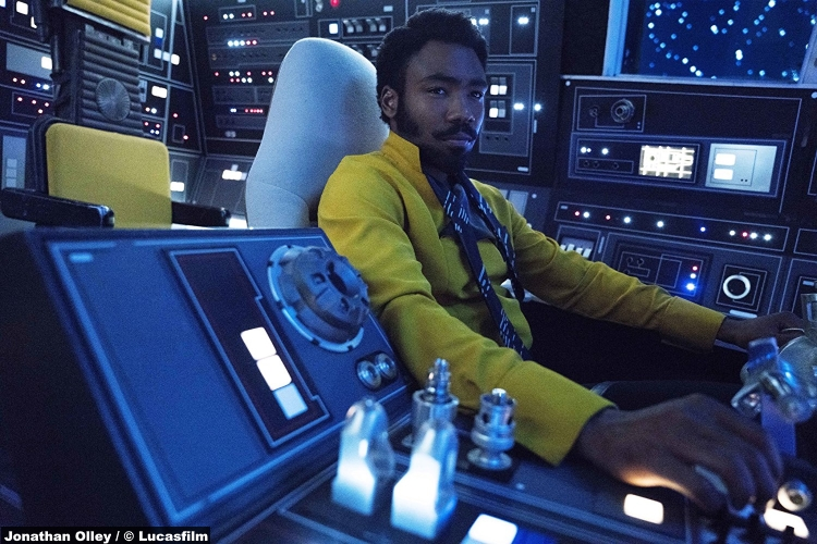 Solo Star Wars Donald Glover Lando Calrissian