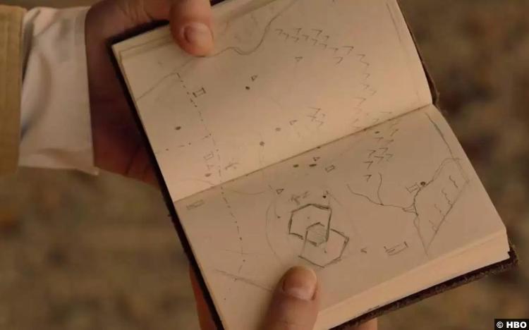 Westworld S02e03 Book