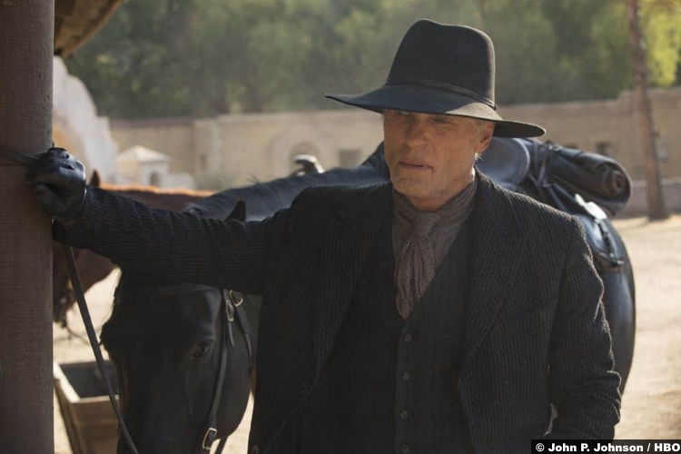 Westworld S02e04 Ed Harris Man Black William