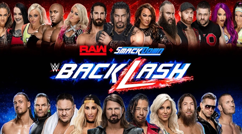 WWE Backlash 2018 Results and Matches