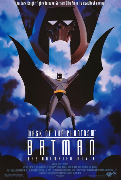 Batman Mask Phantasm 1993 Poster