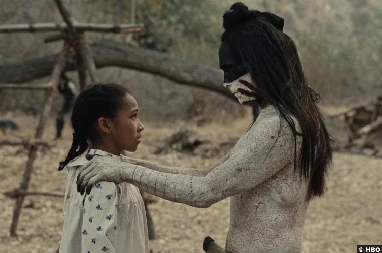 Westworld S02e08 Zahn Mcclarnon Akecheta Jasmyn Rae