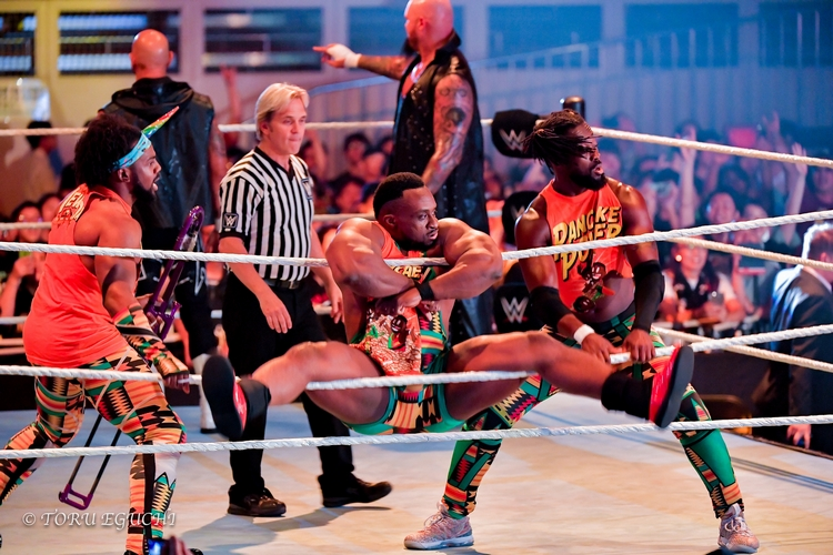 300618 New Day Xavier Woods Big E Kofi Kingston