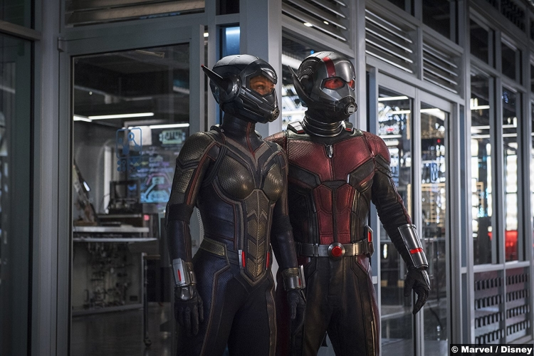 Ant Man Wasp Paul Rudd Evangeline Lilly 2