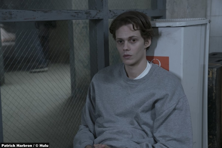 Castle Rock S1e1 Bill Skarsgard Kid