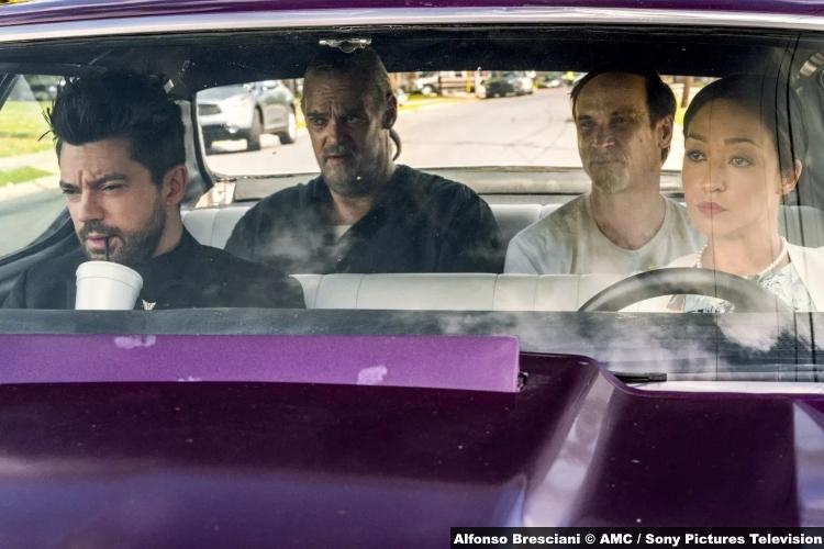 Preacher S3e6 Dominic Cooper Jesse Custer Jeremy Childs Jody Colin Cunningham Tc Ruth Negga Tulip Ohare